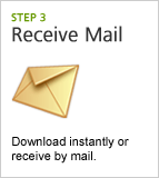 Step 3: Receive Mail